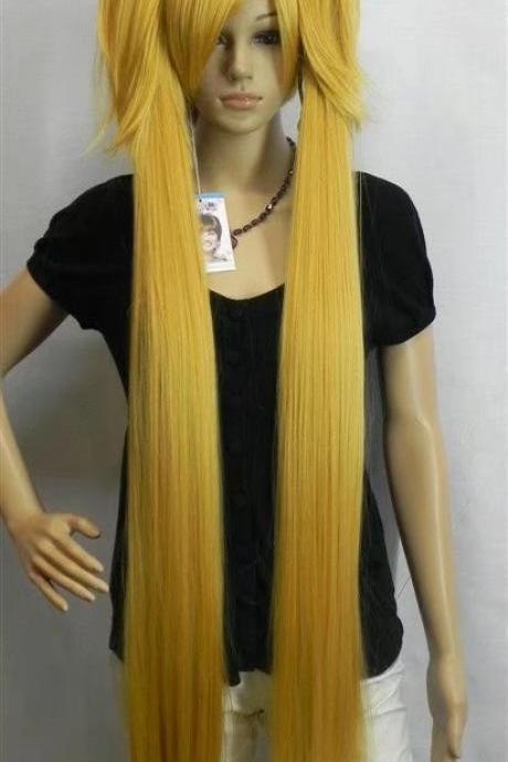 gold wig long women wig cosplay wig long wigs newly 2017