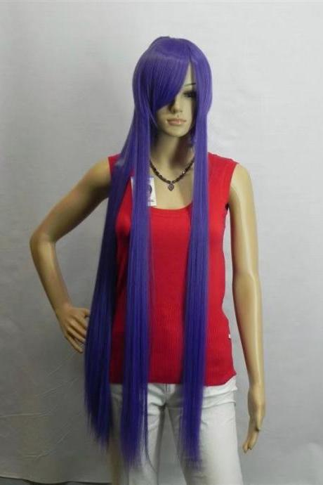long women wig cosplay wig long wigs newly 2017 girl wig real photo purple wig