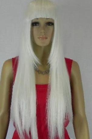 white Wig wigs women wigs synthetic wig long wig christmas gift 2017